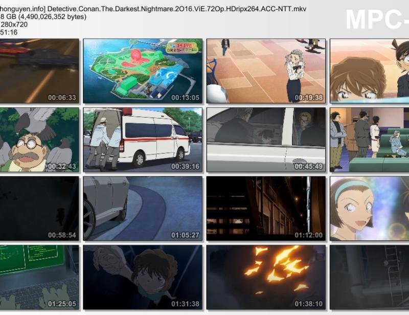 Detective Conan Movie 20 - The Darkest Nightmare – Cơn ác mộng đen tối