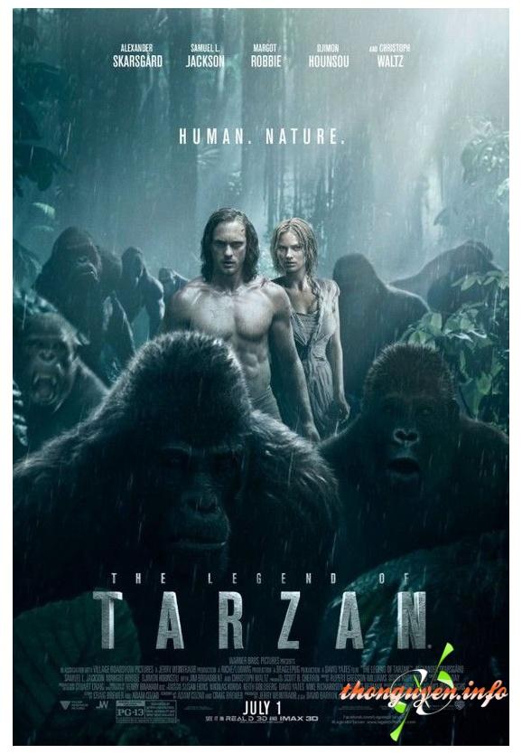 [VietSub] Huyen Thoai Tarzan - The Legend of Tarzan 2016 fullHD-1080p
